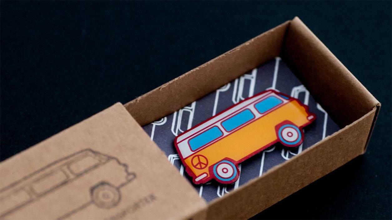 German Export Box: Produkt in Verpackung