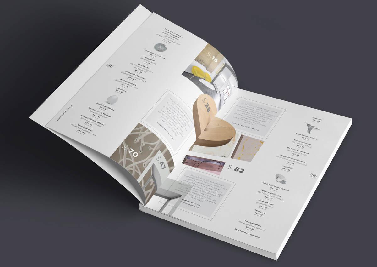 Magazin Sirona Densply, Inhaltsverzeichnis