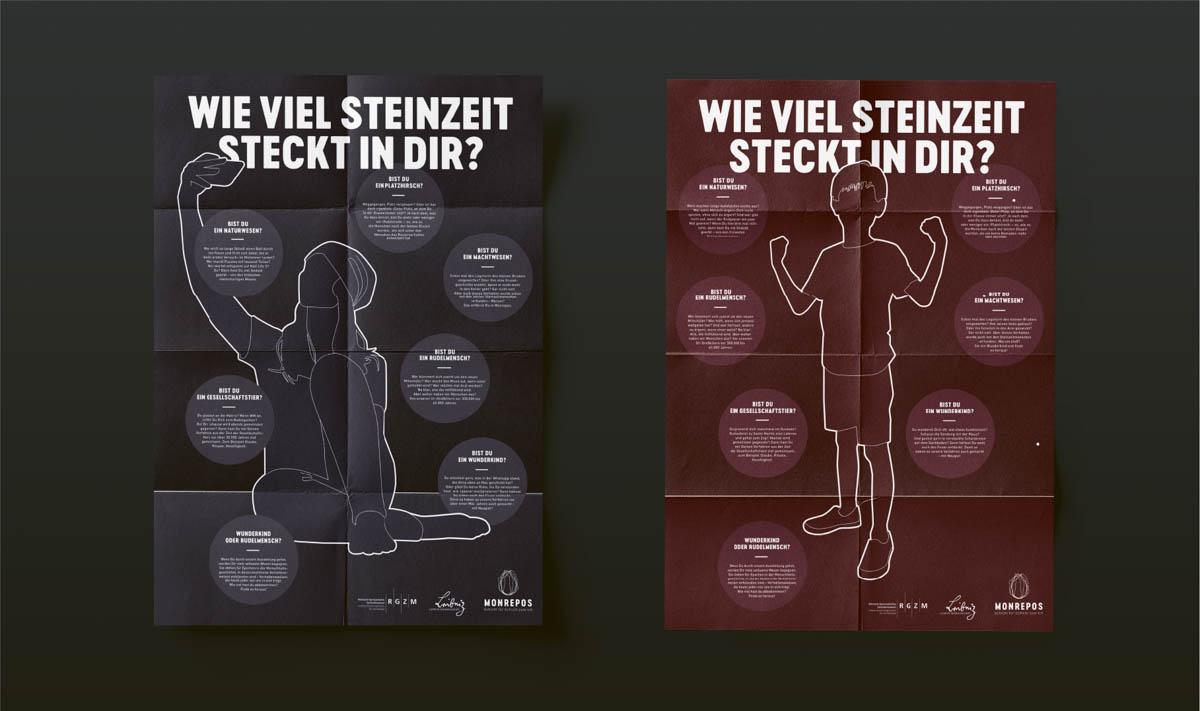 Plakate für Schulklassen im Museum Monrepos Neuwied