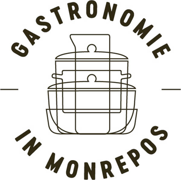 Sublogo für die Gastronomie des Museums Monrepos in Neuwied
