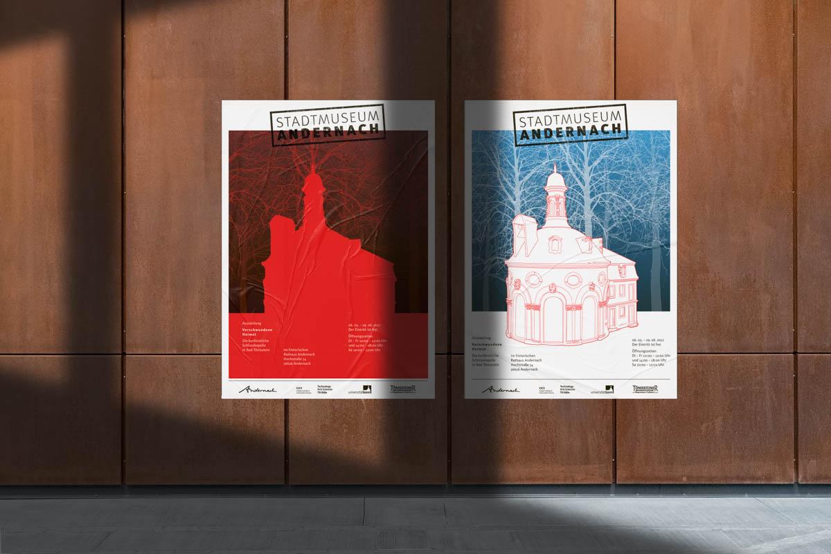 Stadtmuseum Andernach Ausstellungsplakat