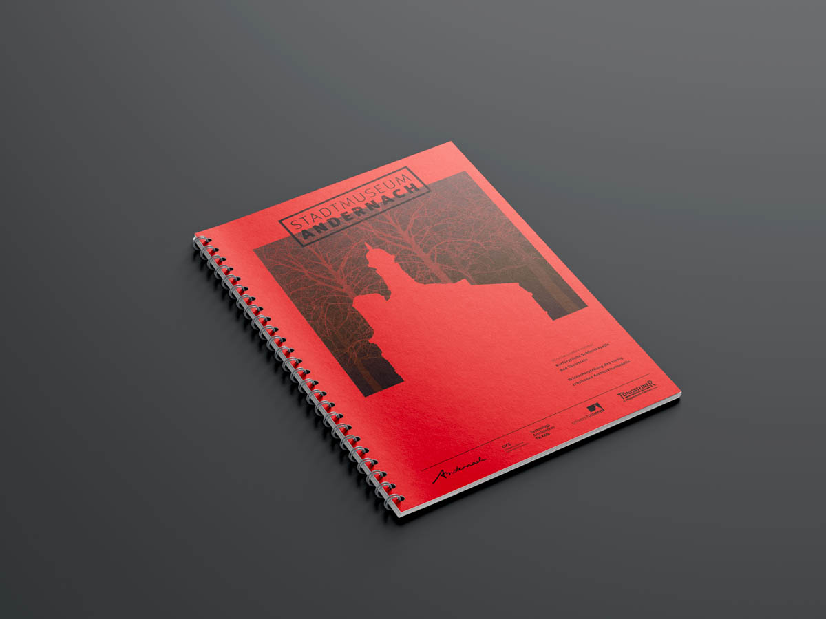 Stadtmuseum Andernach Editorial Design Titel